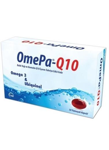 Tab İlaç Tab Ilaç Omepa Q10 Omega3 Ubiquinol 30 Kapsül Renksiz